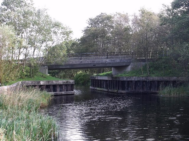 Craigmarloch Bridge over Forth & Clyde Canal