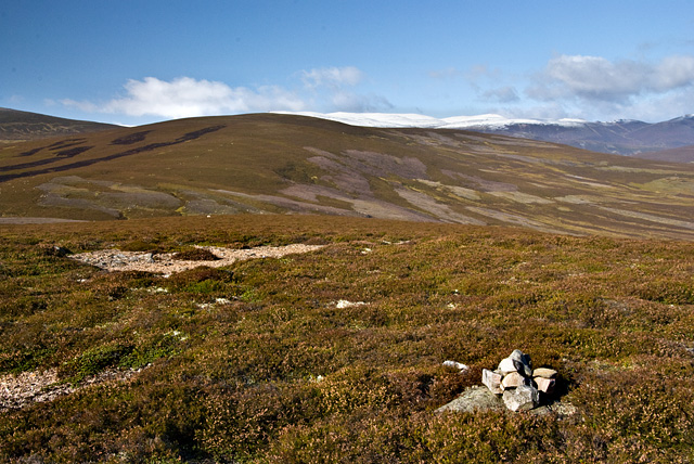 The summit of An Creagan