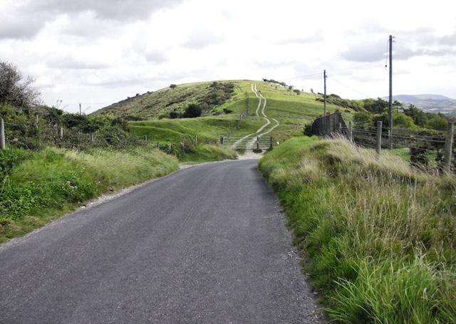 Road Crossing the Ridge