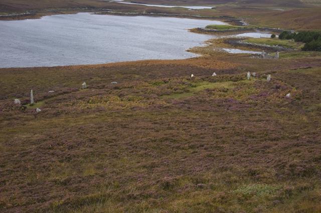 Stone Circle on Beinn Langais