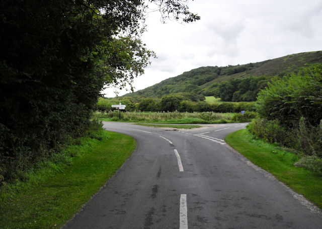Road Junction near East Creech