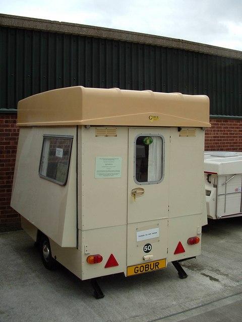 The 'Govan', Gobur's first folding caravan