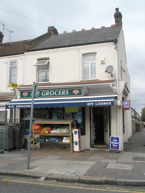 Shop at the junction of Balfour and Sussex Roads
