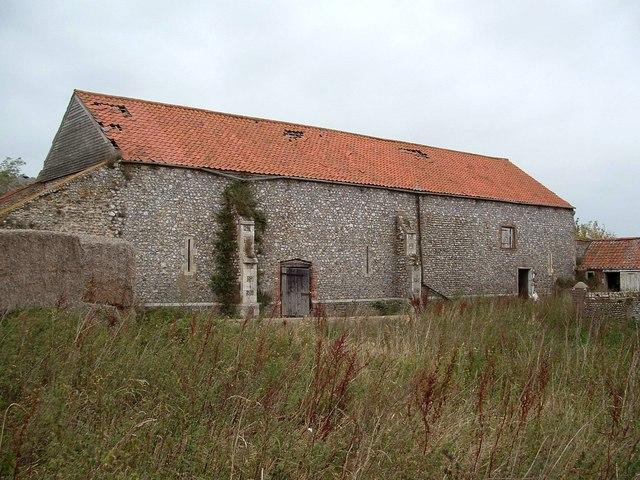 Old Barn, Baconsthorpe Castle