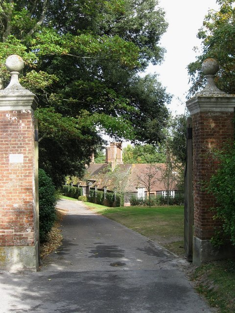 Entrance to Plumpton Place