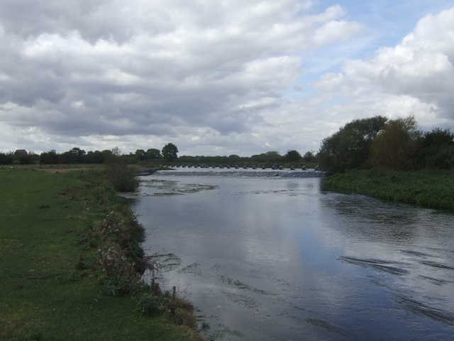 River Trent downstream of the Trent and Mersey Canal