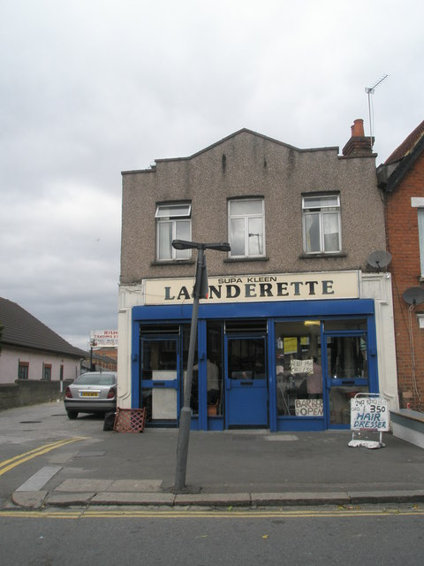 Launderette in Sussex Road
