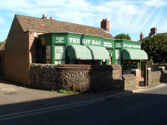 The Kit Bag Outdoor Equipment Shop, East Runton