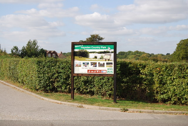 Welcome to Haysden Country Park, Lower Haysden Lane