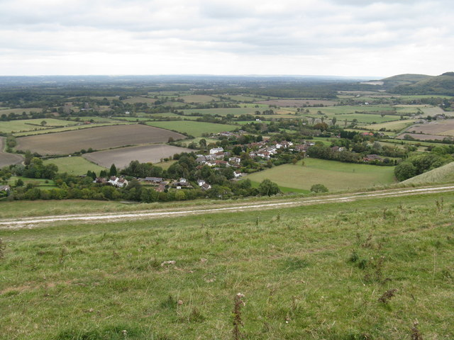 View NE from the South Downs Way