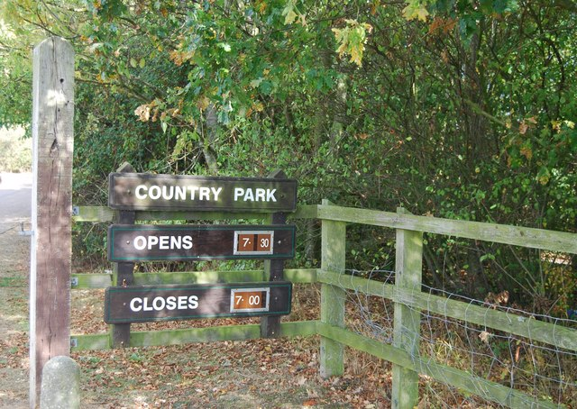 Opening times, Haysden Country Park
