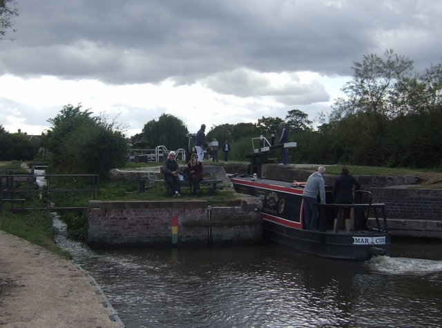 Lock on the River Trent/Trent and Mersey Canal