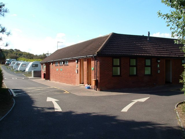Facilities Block, Seacroft Caravan Club Site