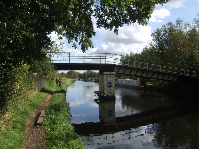 Trent and Mersey Canal - Marina Access Bridge