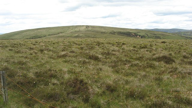 Rough ground on Broad Hill