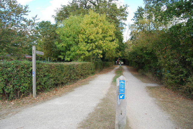 National Cycleway 12, Haysden Country Park