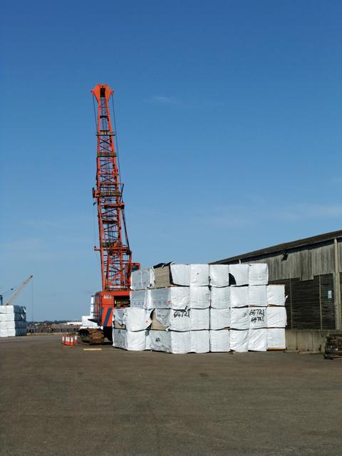 Wharf at New Holland Dock