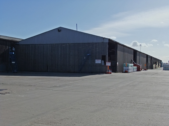 Timber Storage Shed at New Holland Dock