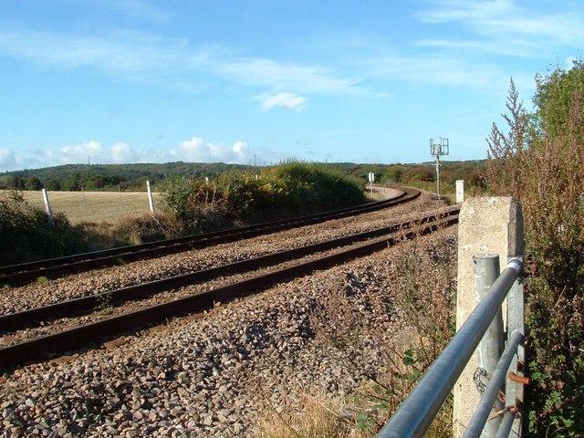 Railway Track, Mill Lane, East Runton