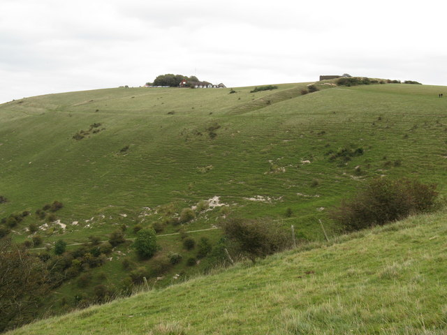 View to hillside at Devil's Dyke