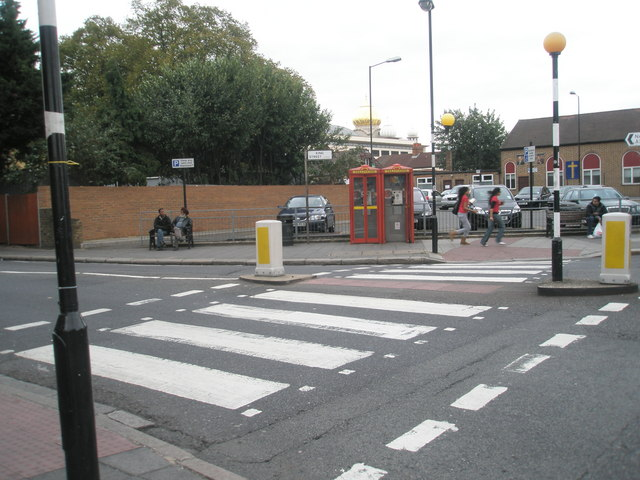 Zebra crossing at the bottom of King Street