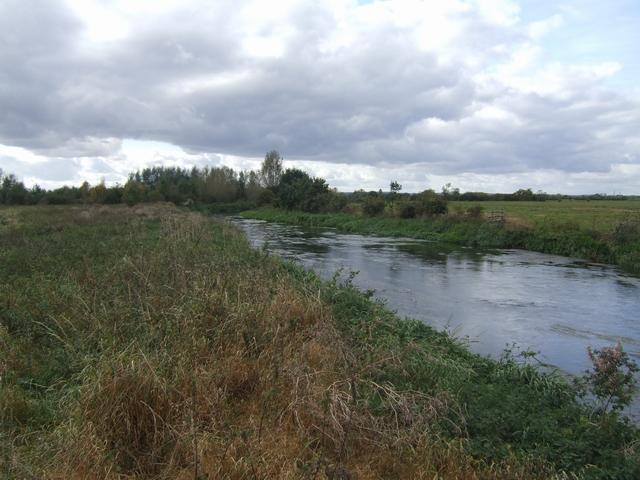 River Trent upstream of A38 bridge