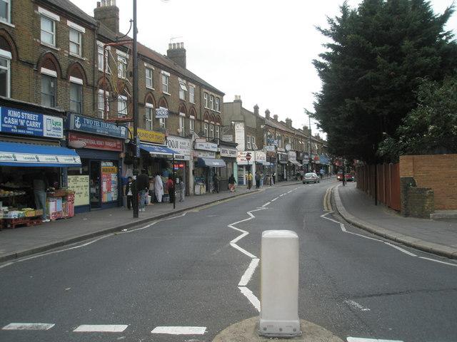 Bottom end of King Street