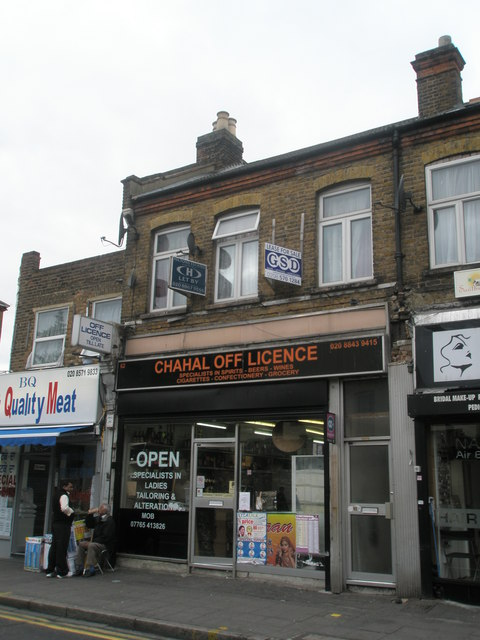 Off-license in King Street
