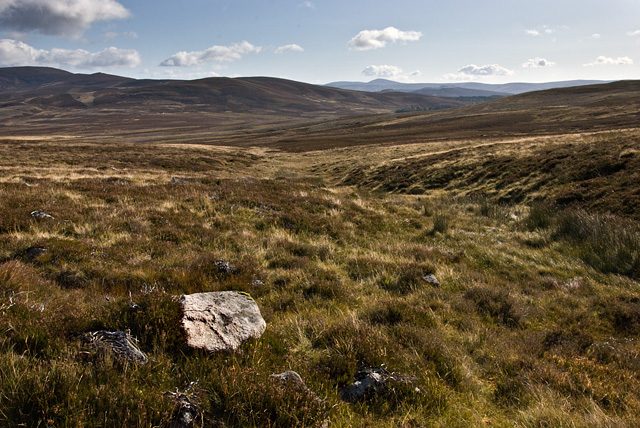On the slopes of An Creagan  above Coulachan Burn