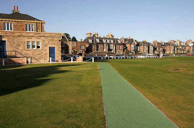 The West Links Golf Course at North Berwick