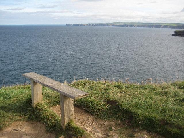 Bench on Kellan Head