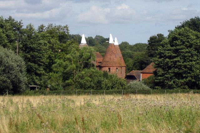 Little Combourne Oast, Jarvis Lane, Goudhurst, Kent
