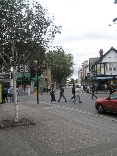 Looking from Western Road across King Street towards Havelock Road