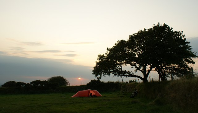 South Penquite campsite