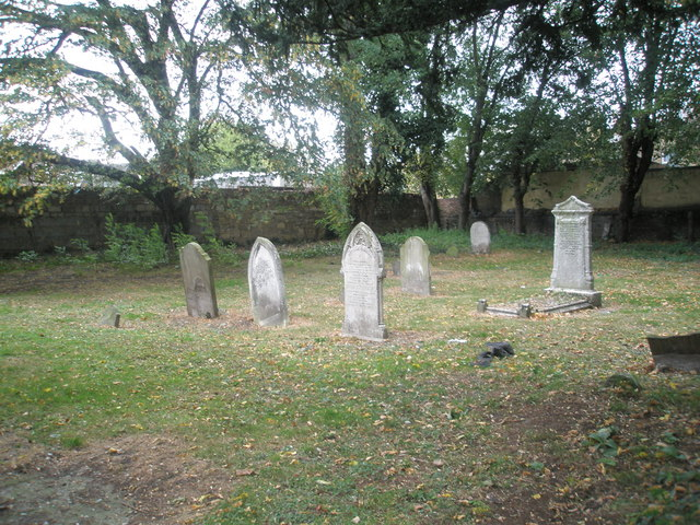 Gravestones in the old churchyard (3)