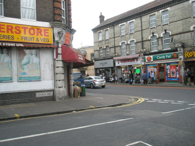 Looking from Church Avenue into King Street