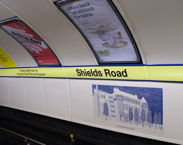 Shields Road subway station