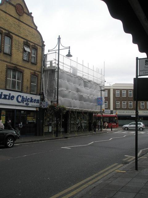 Scaffolding in King Street