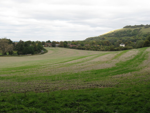 Cropland south of Poynings