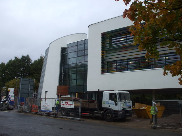 Heath Hospital, new block under construction