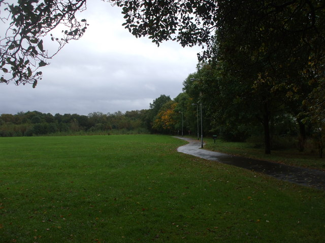 Foot & cycle path, Heath Park, Cardiff