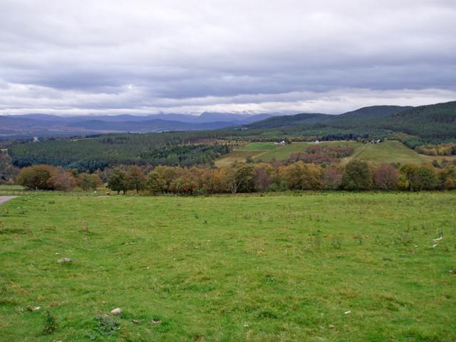 Grass field at Tombain