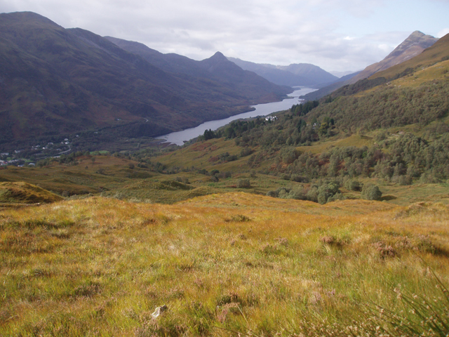View from track to Loch Eilde Mor