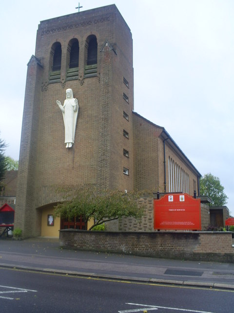 Roman Catholic Church,  London Road, Bushey