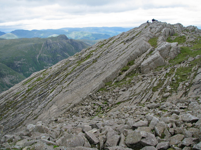 The Great Slab of Flat Crags