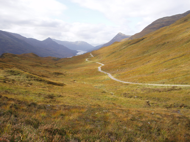 Track from Mamore Lodge to Loch Eilde Mor