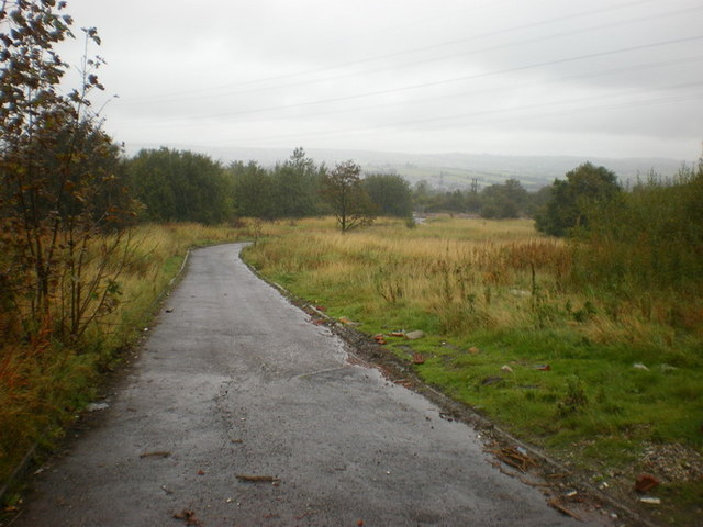 Former Blythe Chemical Works, Service road