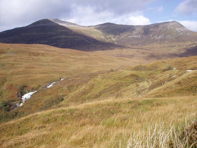 Moorland beside Allt na h-Eilde