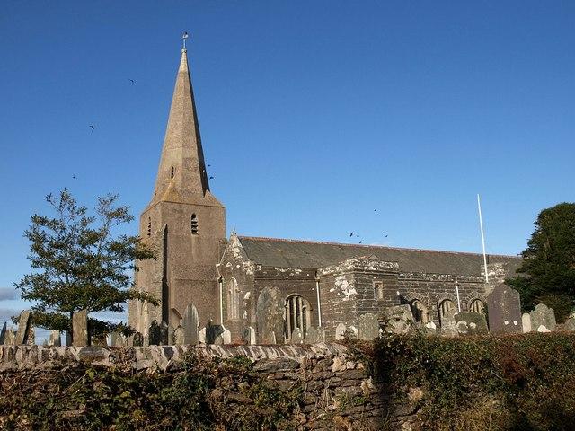 All Saints church, Malborough