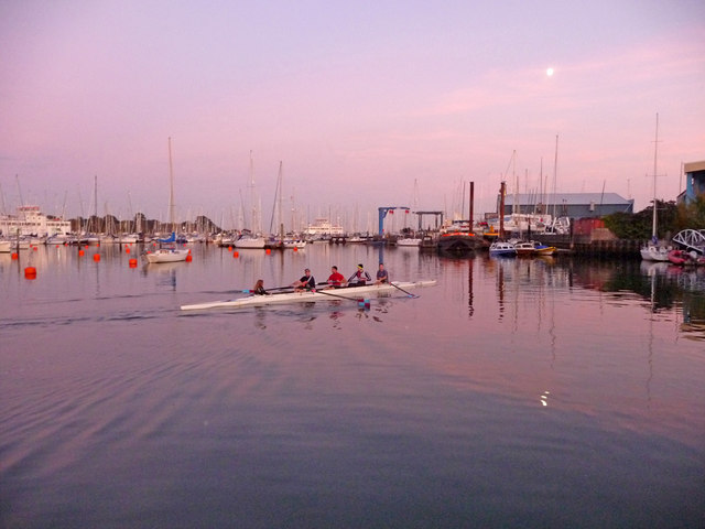 Rowers at Lymington